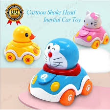 <b>Doraemon</b> Cars Toy <b>Cartoon</b> Hello Kitty <b>Shake</b> Head Car Baby Kids ...