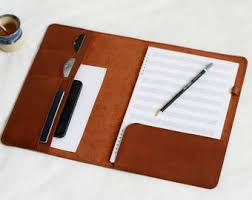 <b>Leather folder</b> | Etsy
