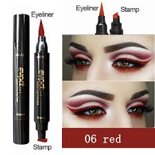 DNM <b>12 Colored Matte Liquid</b> Eyeliner Black Purple Blue Long ...
