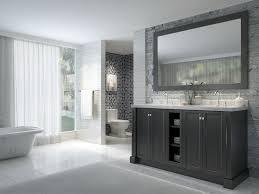 bathroom vanity 60 inch:  ace westwood  inch double sink bathroom vanity set black finish