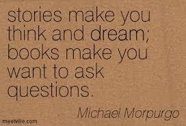 Michael Morpurgo | Five Come Alive via Relatably.com