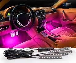 <b>CARCTR</b> 36 LED <b>Atmosphere</b> Light <b>USB</b> Sound/ Remote Control ...