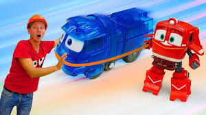 Новое видео для мальчиков. Строим железную дорогу ...