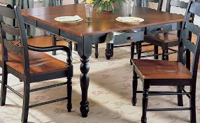 Two Toned Dining Room Sets Dining Distressed Dining Room Tables Is Also A Kind Of Woodbridge