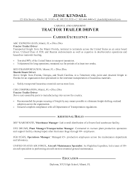 truck driver resume sample job and resume template truck driver jobs description