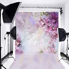 Laeacco Floral Background 5x7ft Oil Painting ... - Amazon.com