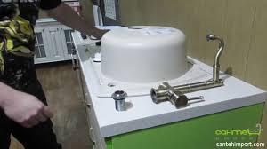 Как пробить отверстие под смеситель в гранитной <b>кухонной</b> ...