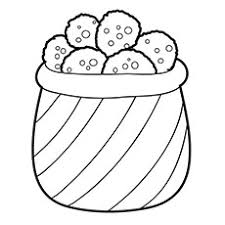Small Picture 10 Yummy Cookies Coloring Pages For Your Little Ones