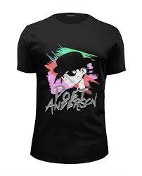 Футболка Wearcraft Premium Slim Fit Poet Anderson 80s T-Shirt ...