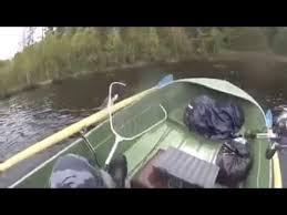 Горе-<b>рыбак</b> перевернулся на <b>лодке</b> (видео не моё) - YouTube