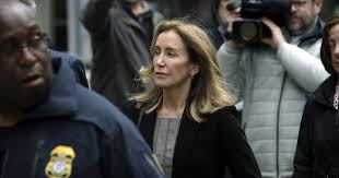 Will Felicity Huffman get prison time for her role in college ...