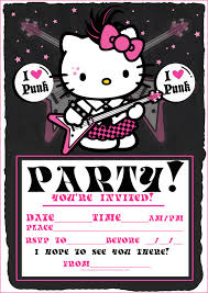 hello kitty party invitations com images about cards on plants vs zombies hello invitation samples hello kitty printable
