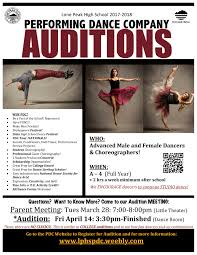 lone peak high school home of the knights audition poster