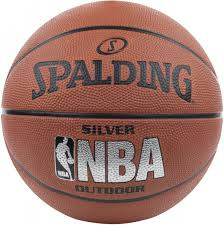 <b>Мяч</b> баскетбольный <b>Spalding NBA</b> Silver коричневый цвет ...