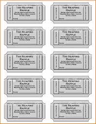 8 printable raffle ticket template job resumes word printable raffle ticket template 2 8 printable raffle