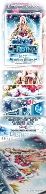 christmas event flyer template photoshop christmas event flyer template 6249085