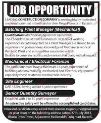 electrical foreman resume html civil foreman electrical foreman batching plant manager electrical foreman job opportunity 2017 jobs