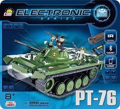 Танк РТ-76 с электродвигателем и ... - Конструктор COBI