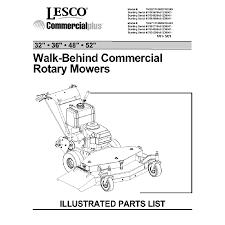 parts manuals mower geek 2001 lesco commercial walk behind parts manual