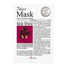 <b>Маска для</b> лица `ARIUL` <b>7 DAYS</b> с экстрактом чайного дерева ...