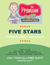 marketing flyer templates in word for any business five stars business
