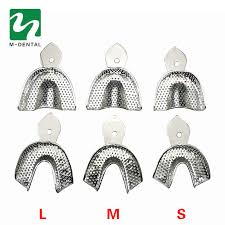 <b>6Pcs</b>/<b>Set Dental Trays</b> Denture Instruments Stainless steel ...