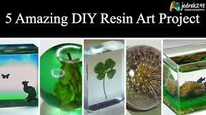 5 MOST Amazing DIY Ideas from Epoxy <b>RESIN</b>. <b>SIMPLE</b> Tutorial ...