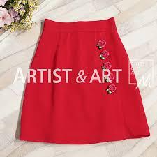 2019 <b>Svoryxiu Autumn Runway Custom</b> Skirts Women'S Hand ...