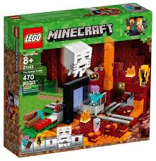 <b>Конструктор LEGO Minecraft</b> 21143 Портал в Подземелье ...