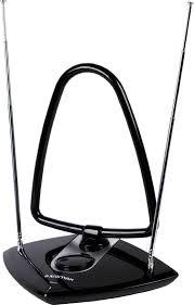 <b>Комнатная антенна Kromax</b> TV FLAT-06, черный