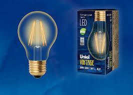 <b>LED</b>-<b>A60</b>-<b>6W</b>/<b>GOLDEN</b>/<b>E27 GLV21GO Лампа</b> светодиодная ...