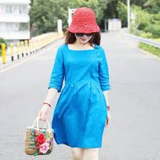 <b>Hot Sales Women's</b> Short Sleeve Dresses | Loose <b>Linen</b> Cotton ...