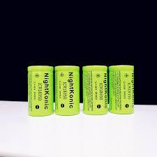 High Quality Original <b>New Nightkonic</b> ICR 18350 Battery 900mAh ...