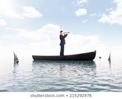 Royalty-Free Men Boat <b>Shark</b> Stock Images, Photos & Vectors ...