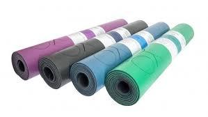 <b>Коврик для йоги Dream</b> с разметкой из натурального каучука ID ...