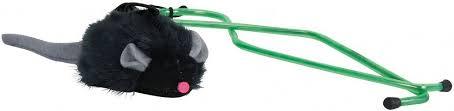 "<b>Игрушка Trixie</b> ""Мышка"", с микрочипом, с креплением на дверном ..."