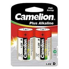 <b>Батарейка D CAMELION</b> Plus Alkaline LR20-BP2, щелочная, 2шт ...