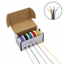<b>100M</b>/lot <b>328ft</b> 20 AWG Flexible Silicone Wire RC Cable electronic ...