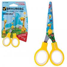 <b>ножницы brauberg</b> жирафы 13 см - www.americanparts.ru