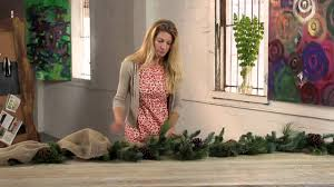 How to <b>Decorate</b> Christmas <b>Garland</b> With Ribbon : Holiday ...