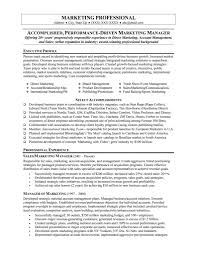 marketing resume samples getessay biz marketing resume sample in marketing resume