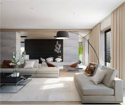 ideas contemporary living room: clean neutral colour palette contemporary living room