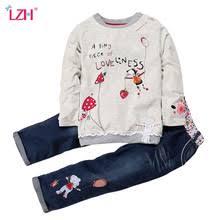 LZH/<b>комплекты детской одежды</b> для девочек, весенне-осенняя ...