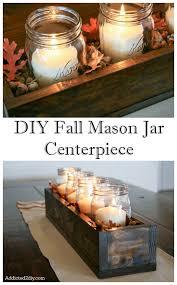 rustic feel centerpieces and mason jar centerpieces on pinterest build diy mason