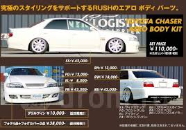 <b>Комплект обвесов</b> RUSH AERO <b>BODY KIT</b> Toyota Chaser X100 ...