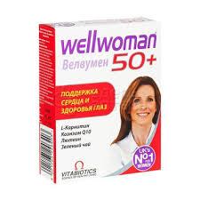 <b>Велвумен</b> Wellwoman <b>50</b>+ <b>30</b> таблеток купить в г.Ефремов | Купи ...