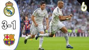Real Madrid vs Fc Barcelona 3-1 Goals and Highlights (26.10.2014 ...