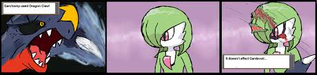 Gardevoir didn't even budge. : pokemon via Relatably.com