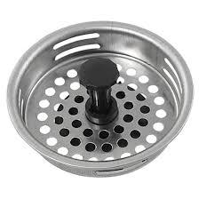 kitchen sink strainer plug additional