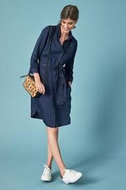 <b>Denim Dresses</b> | Bardot & Pinafore <b>Denim Dresses</b> | Next